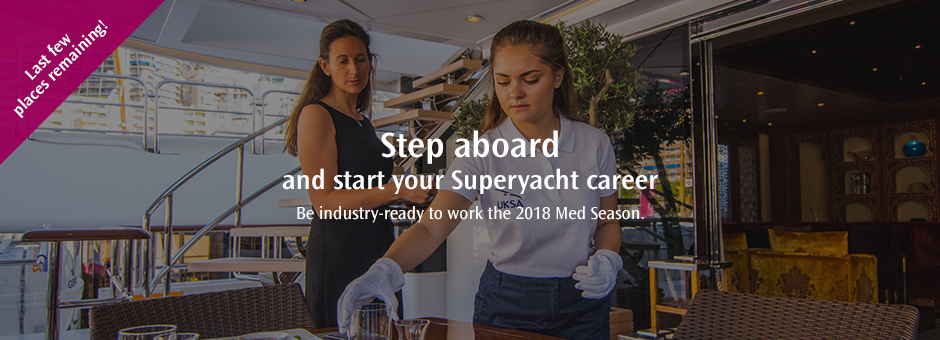 <strong>Superyacht Interior Foundation Courses</strong><br>Hurry! There's only a few places remaining.
