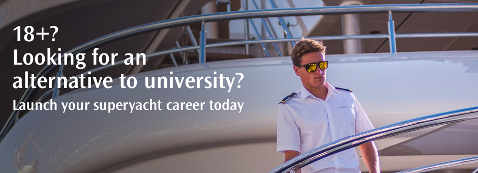 <strong>Professional Yacht Cadetship</strong><br>Apply now and step aboard our flagship course