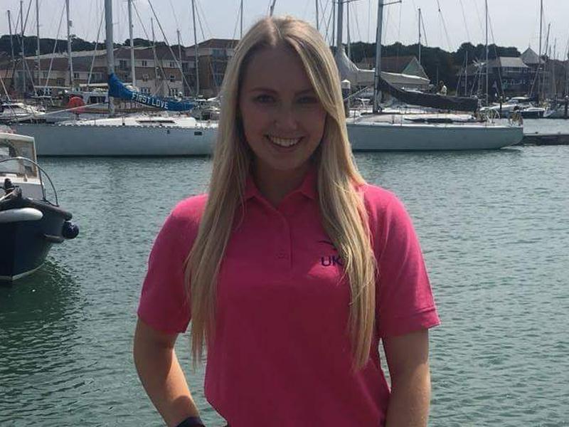 Brooke Garwood Superyacht Hospitality Training at UKSA