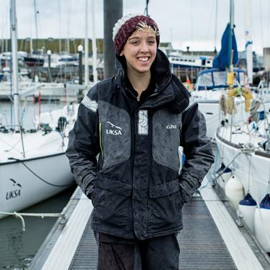 daisy mcdonnell on dock jetty