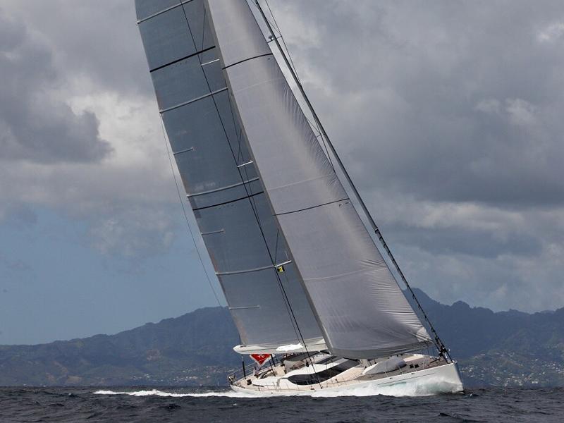 Dan Snook sailing