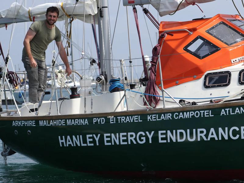 Gregor-McGuckin on board