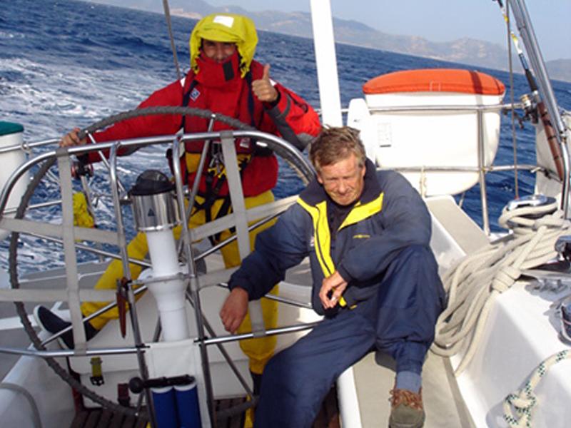 Jean-Damien-Barrier sailing