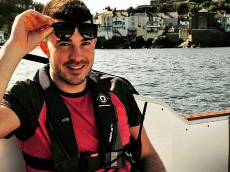 Ollie Garton beginning his journey in the Superyacht Cadetship