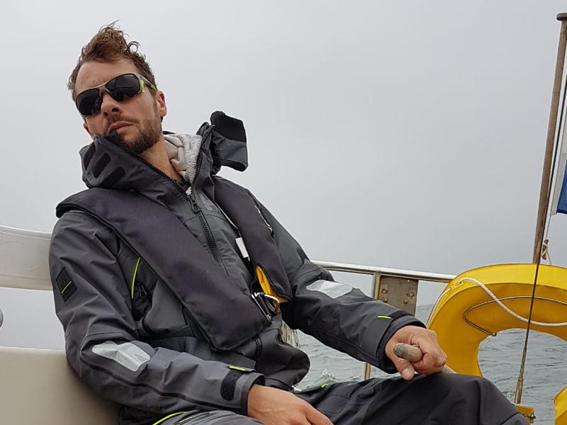 Sjoerd Resink Pyo sailing