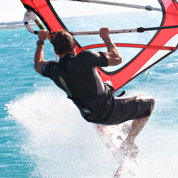 Watersports Instructor in action