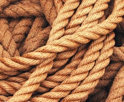 A close up shot of rope