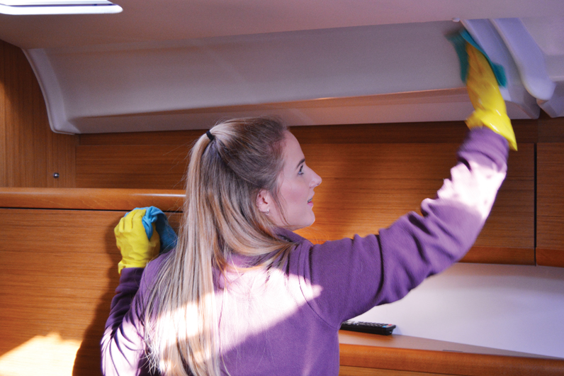 Yacht Cleaning superyacht hospitality