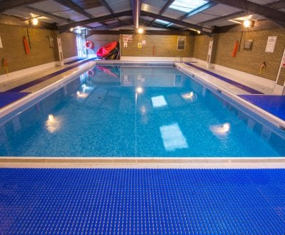 UKSA indoor heated swimming pool