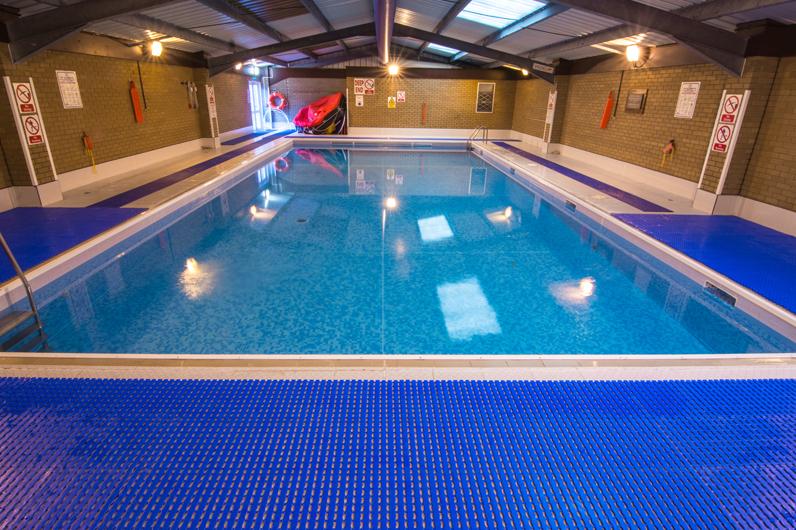 UKSA indoor heated swimming pool