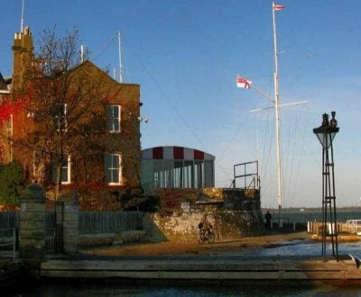 The Cowes Royal Yacht Squadron building