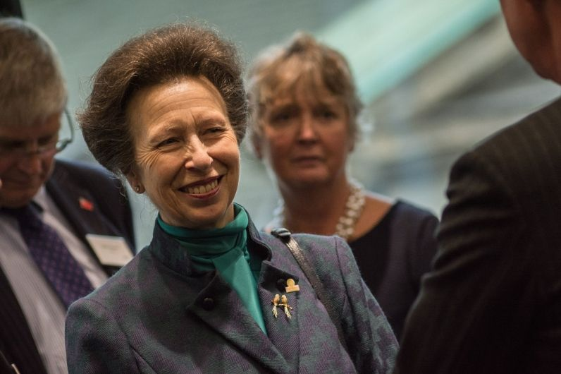 HRH The Princess Royal - patron of UKSA attending a UKSA charity event