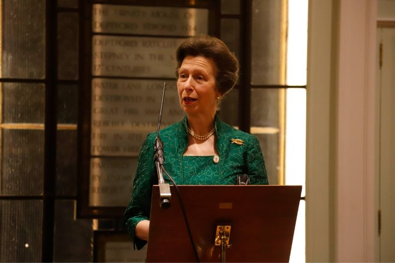 HRH Princess Royal speaking at UKSA