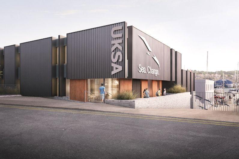 UKSA head office in Cowes, Isle of Wight