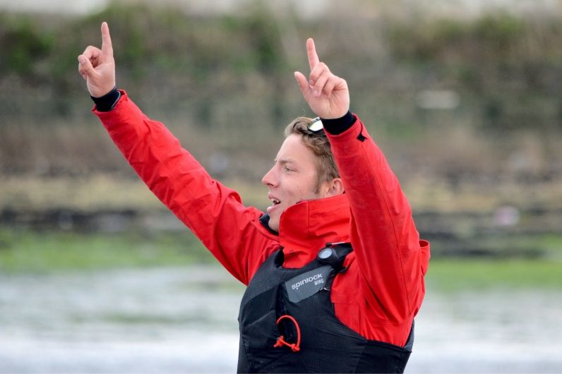 Watersports instructor Liam Fussey