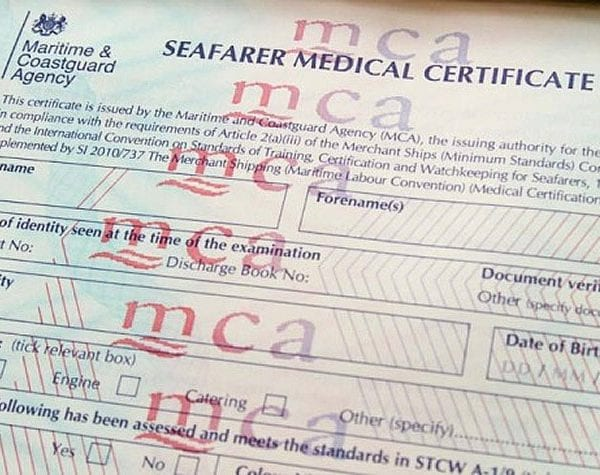 The ENG1 Medical Certificate