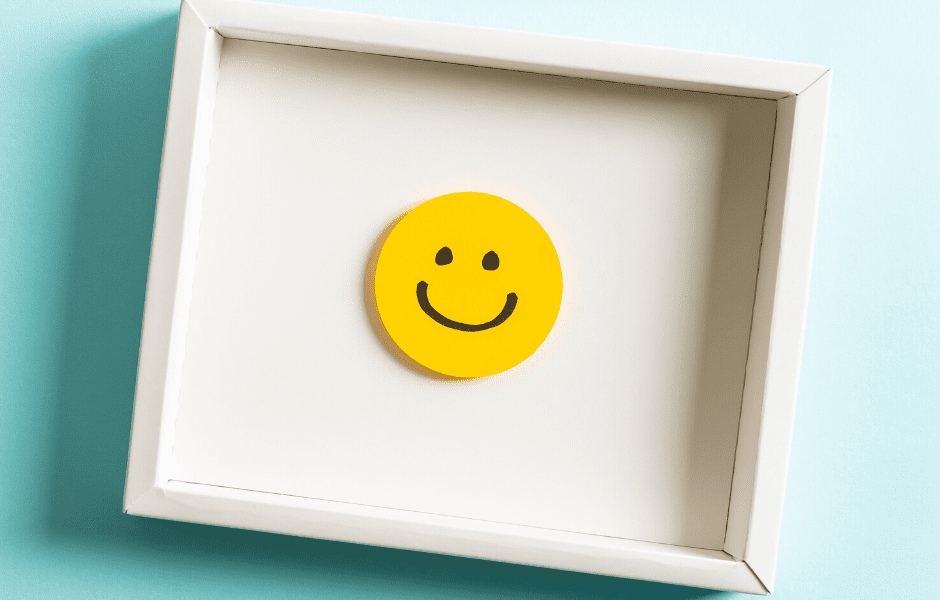 A Happy Face in a photo frame