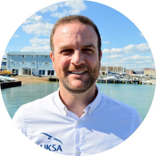 Profile photograph of UKSA CEO Ben Willows