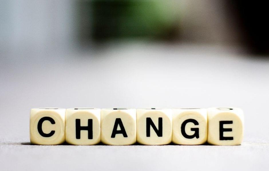 Change written in Dice